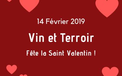 Vin et Terroir fête la Saint- Valentin !