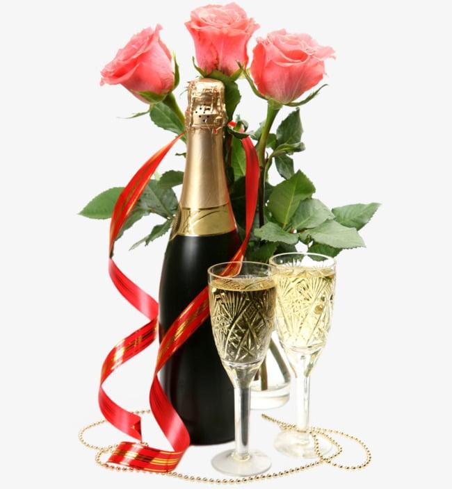 champagne saint valentin